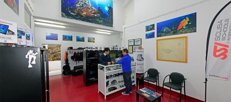 Centro de mergulho